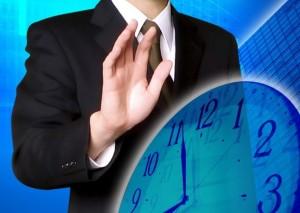 遅刻する人とは仕事しない1